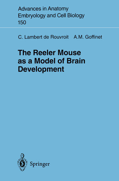 The Reeler Mouse as a Model of Brain Development - Coverbild