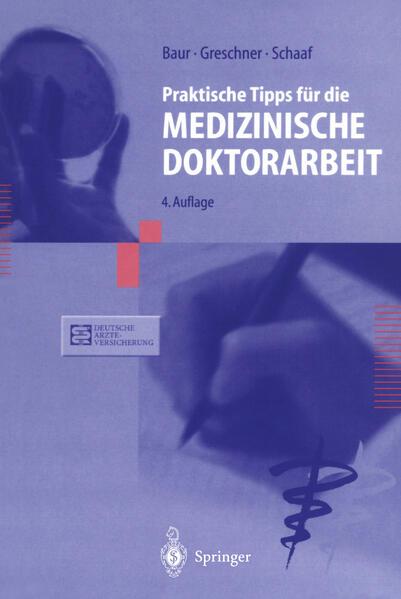 Praktische Tipps für die Medizinische Doktorarbeit - Coverbild