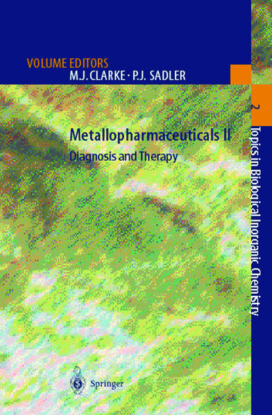 Metallopharmaceuticals II - Coverbild