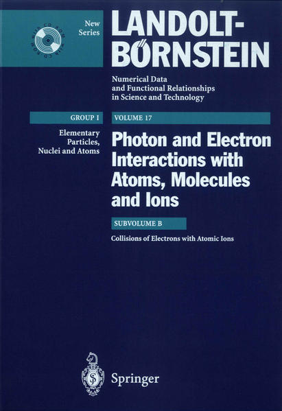 Collisions of Electrons with Atomic Ions - Coverbild
