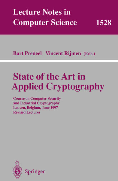 State of the Art in Applied Cryptography - Coverbild