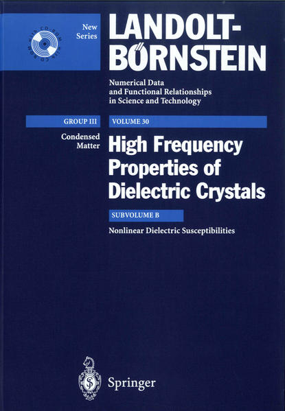 Nonlinear Dielectric Susceptibilities - Coverbild