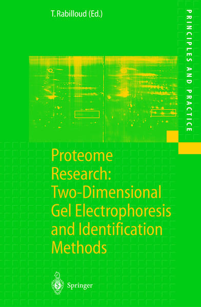 Proteome Research: Two-Dimensional Gel Electrophoresis and Identification Methods - Coverbild