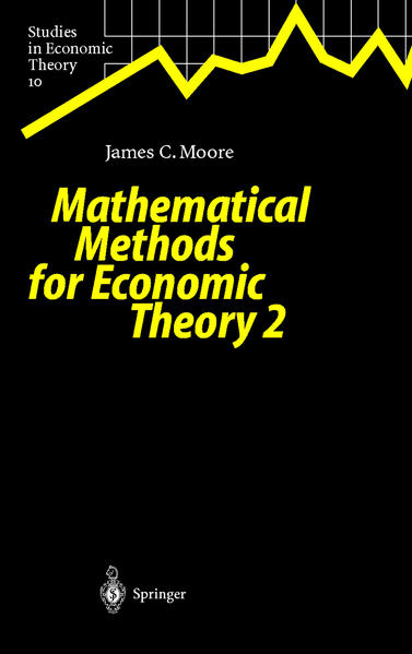 Mathematical Methods for Economic Theory 2 - Coverbild