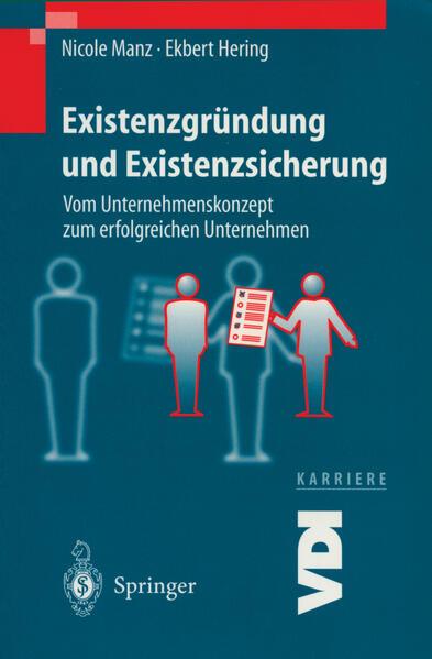 Existenzgründung und Existenzsicherung - Coverbild