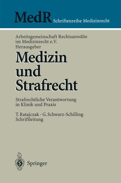 Medizin und Strafrecht - Coverbild