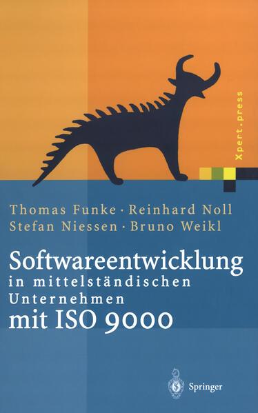 Softwareentwicklung in mittelständischen Unternehmen mit ISO 9000 - Coverbild