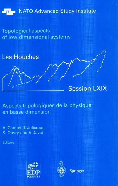 Aspects topologiques de la physique en basse dimension. Topological aspects of low dimensional systems - Coverbild