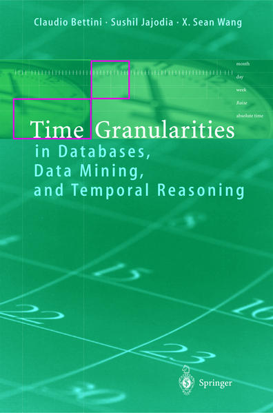 Time Granularities in Databases, Data Mining, and Temporal Reasoning - Coverbild