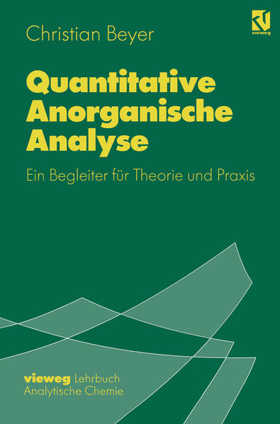 Quantitative Anorganische Analyse - Coverbild