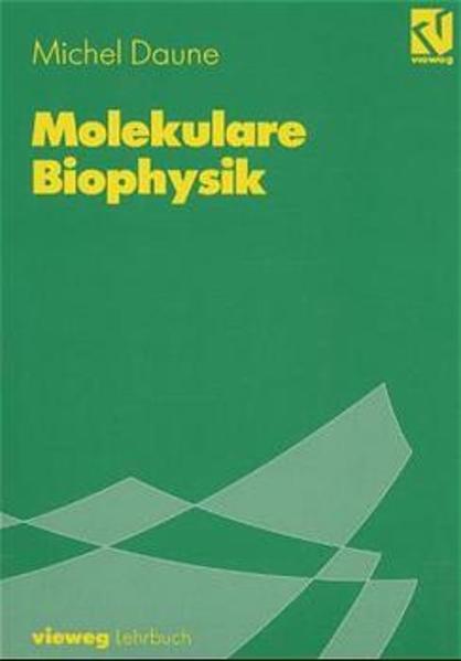 Molekulare Biophysik - Coverbild