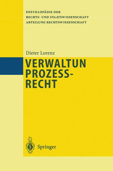Verwaltungsprozeßrecht - Coverbild
