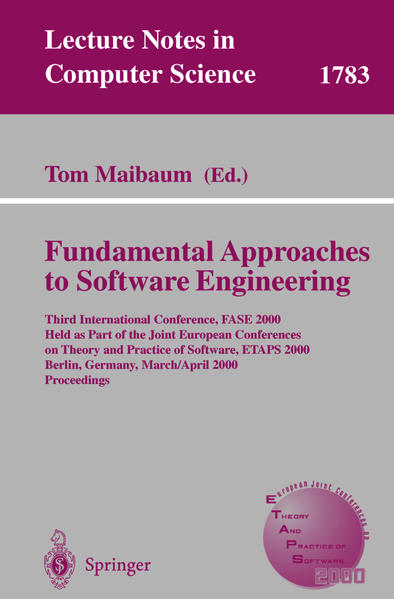 Fundamental Approaches to Software Engineering - Coverbild
