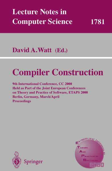 Compiler Construction - Coverbild