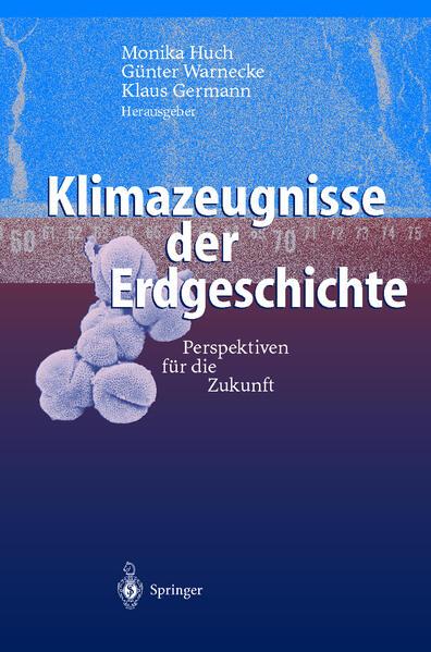 Klimazeugnisse der Erdgeschichte - Coverbild