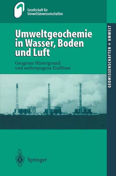 Umweltgeochemie in Wasser, Boden und Luft - Coverbild