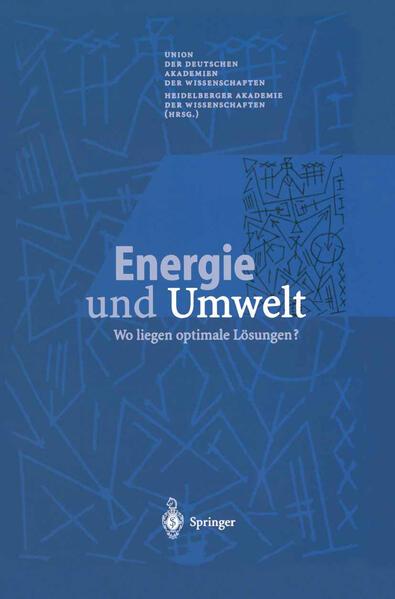 Energie und Umwelt - Coverbild