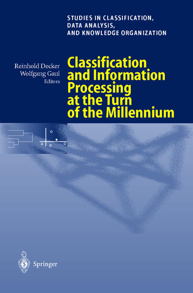 Classification and Information Processing at the Turn of the Millennium - Coverbild