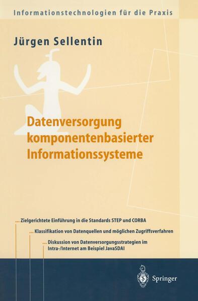 Datenversorgung komponentenbasierter Informationssysteme - Coverbild