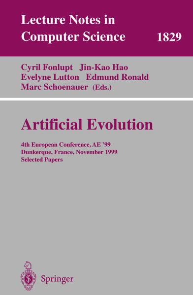 Artificial Evolution - Coverbild