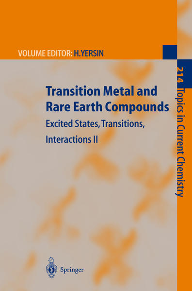 Transition Metal and Rare Earth Compounds - Coverbild
