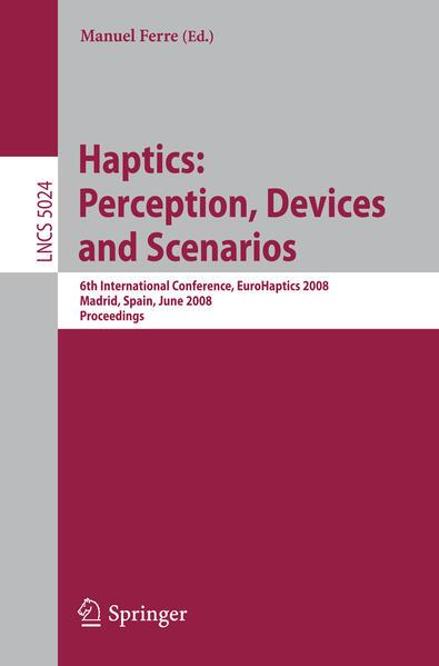Haptics: Perception, Devices and Scenarios - Coverbild