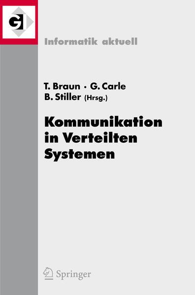 Kommunikation in Verteilten Systemen (KiVS) 2007 - Coverbild