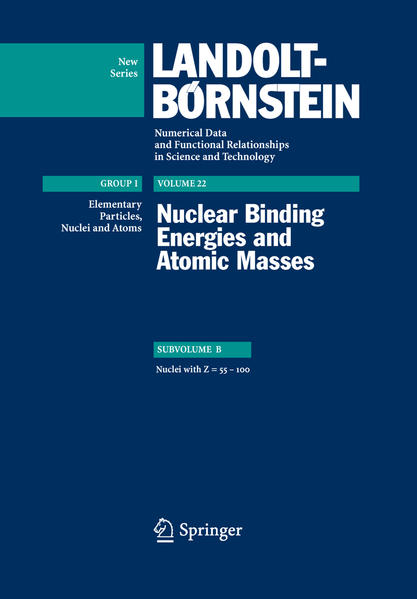 Nuclei with Z=55...100 - Coverbild