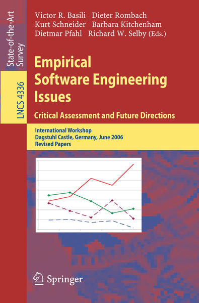 Empirical Software Engineering Issues. Critical Assessment and Future Directions - Coverbild