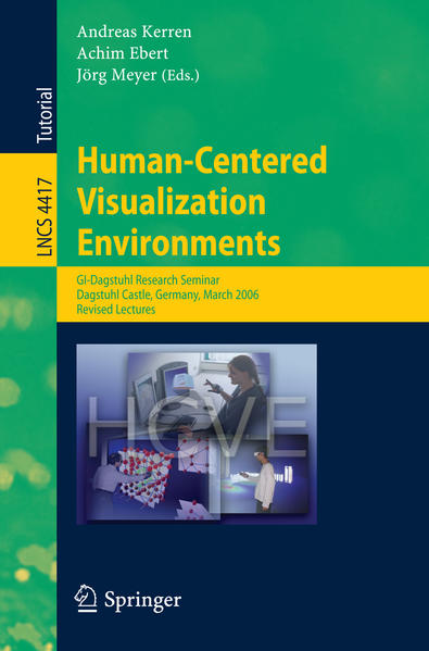 Human-Centered Visualization Environments - Coverbild
