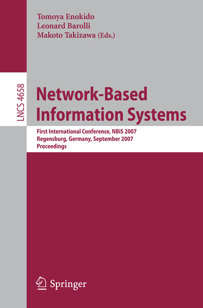 Network-Based Information Systems - Coverbild