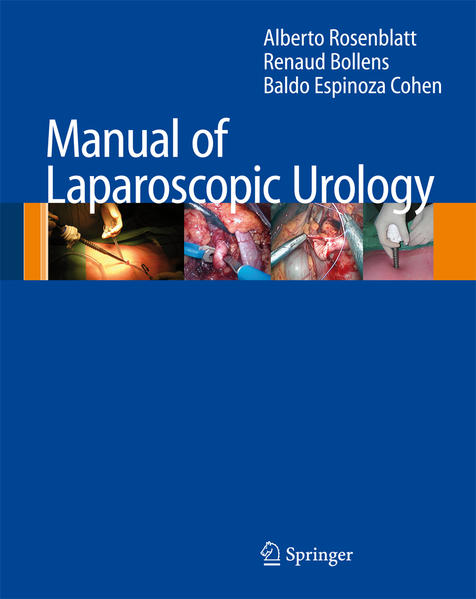 Manual of Laparoscopic Urology - Coverbild