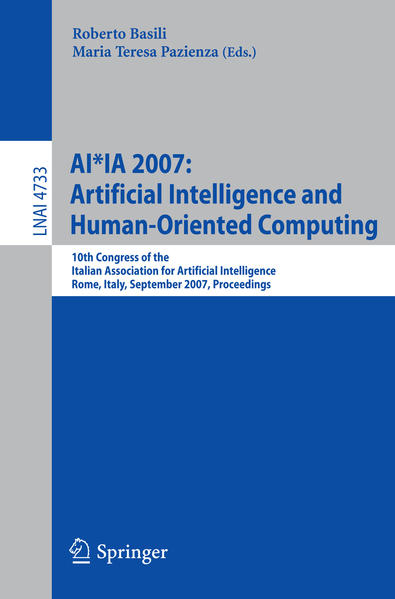 AI*IA 2007: Artificial Intelligence and Human-Oriented Computing - Coverbild