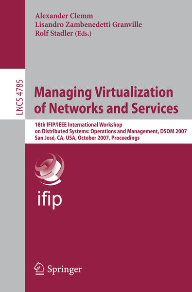 Managing Virtualization of Networks and Services - Coverbild