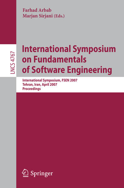 International Symposium on Fundamentals of Software Engineering - Coverbild