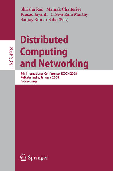 Distributed Computing and Networking - Coverbild