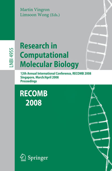 Research in Computational Molecular Biology - Coverbild