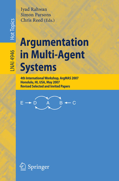 Argumentation in Multi-Agent Systems - Coverbild