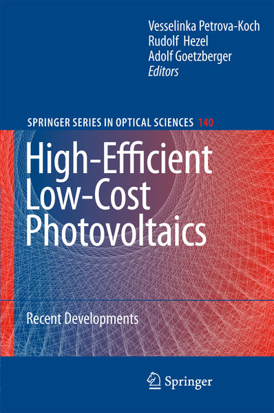 High-Efficient Low-Cost Photovoltaics - Coverbild
