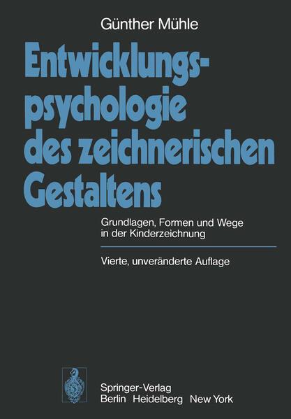 Entwicklungspsychologie des zeichnerischen Gestaltens - Coverbild