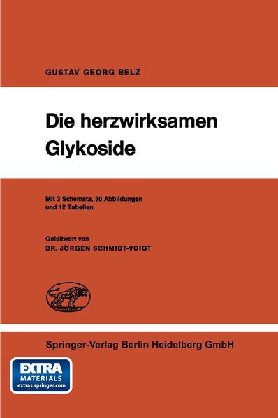 Die herzwirksamen Glykoside - Coverbild