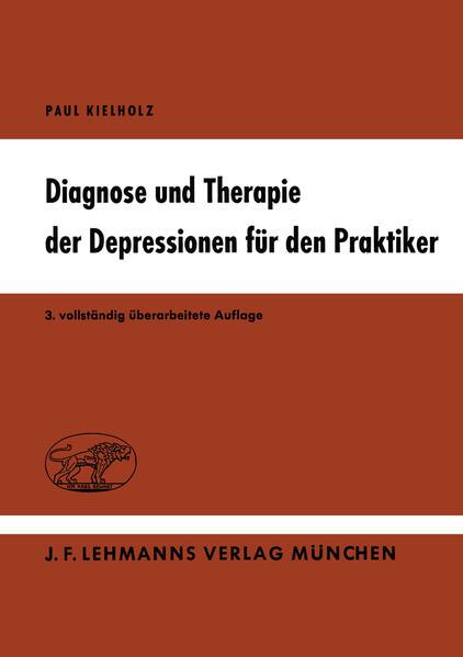 Diagnose und Therapie der Depressionen für den Praktiker - Coverbild