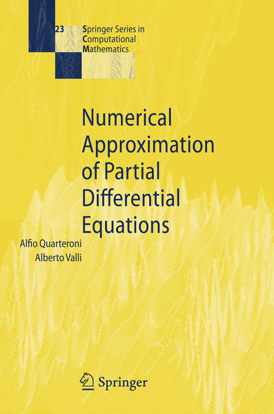 Numerical Approximation of Partial Differential Equations - Coverbild