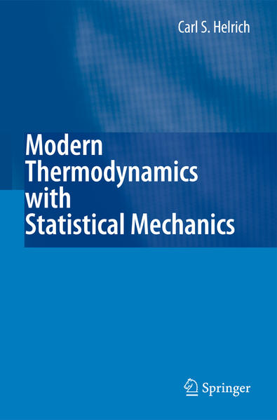 Modern Thermodynamics with Statistical Mechanics - Coverbild