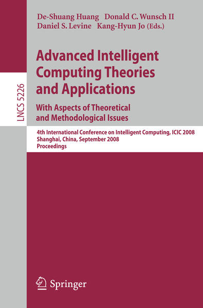 Advanced Intelligent Computing Theories and Applications. With Aspects of Theoretical and Methodological Issues - Coverbild