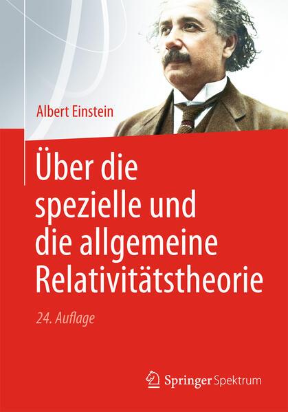 Über die spezielle und die allgemeine Relativitätstheorie - Coverbild