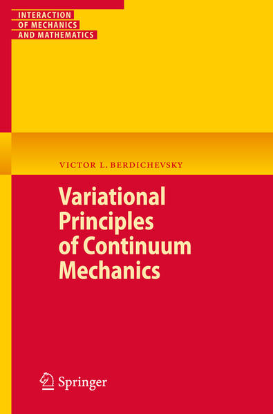 Variational Principles of Continuum Mechanics - Coverbild