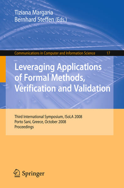 Leveraging Applications of Formal Methods, Verification and Validation - Coverbild