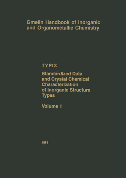 TYPIX — Standardized Data and Crystal Chemical Characterization of Inorganic Structure Types - Coverbild