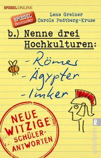 Nenne drei Hochkulturen: Römer, Ägypter, Imker Cover